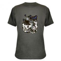 Камуфляжная футболка Город под подошвой - FatLine