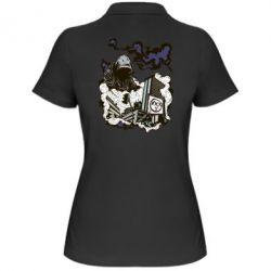 Женская футболка поло Город под подошвой - FatLine