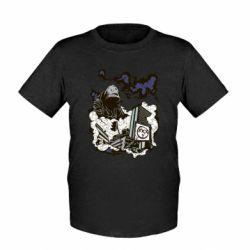 Детская футболка Город под подошвой - FatLine