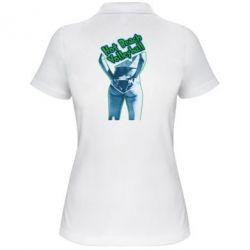 Женская футболка поло Горячий пляжный волейбол
