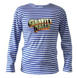 Тельняшка с длинным рукавом Gravity Falls - FatLine