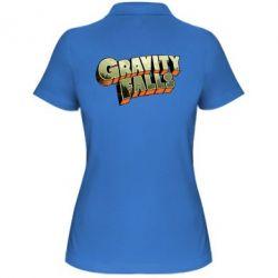 Женская футболка поло Gravity Falls - FatLine