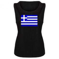 Женская майка Греция - FatLine