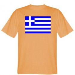 Мужская футболка Греция - FatLine