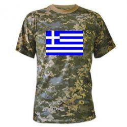 Камуфляжная футболка Греция - FatLine