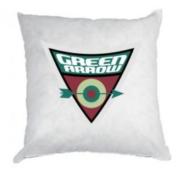 Подушка Green Arrow Logo
