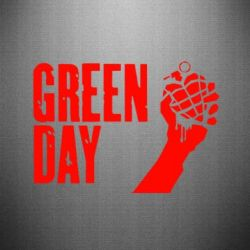 Наклейка Green Day American Idiot - FatLine