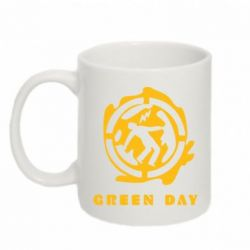 Кружка 320ml Green Day Logo - FatLine