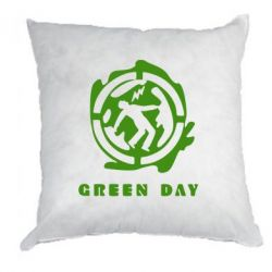 Подушка Green Day Logo - FatLine