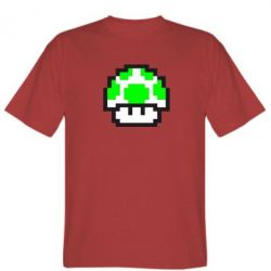 Мужская футболка Гриб Марио в пикселях - FatLine