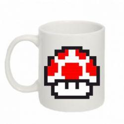 Кружка 320ml Гриб Марио в пикселях - FatLine