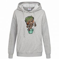 Женская толстовка Groot - FatLine