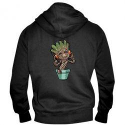 Мужская толстовка на молнии Groot - FatLine