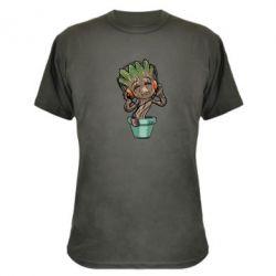 Камуфляжная футболка Groot - FatLine