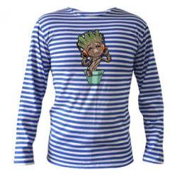 Тельняшка с длинным рукавом Groot - FatLine