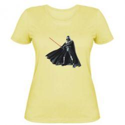 Женская футболка Грозный Дарт Вейдер - FatLine