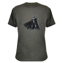 Камуфляжная футболка Грозный Дарт Вейдер - FatLine