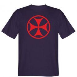Мужская футболка Грузинский Крест - FatLine