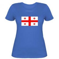 Женская футболка Грузия - FatLine