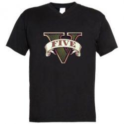 ������� ��������  � V-�������� ������� GTA 5 3D Logo - FatLine