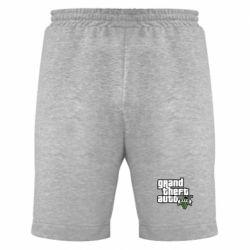 Мужские шорты GTA V Maine Logo - FatLine