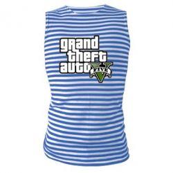 Майка-тельняшка GTA V Maine Logo - FatLine
