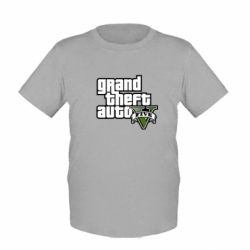 Детская футболка GTA V Maine Logo - FatLine