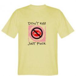 Мужская футболка губки - FatLine