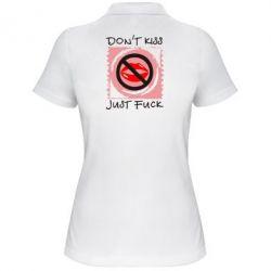 Жіноча футболка поло губки - FatLine