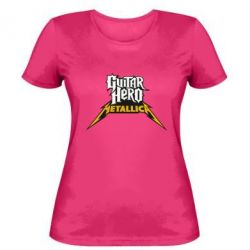 Женская футболка Guitar Hero Metallica