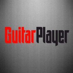 Наклейка Guitar Player - FatLine