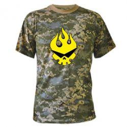Камуфляжная футболка Gurren Lagann - FatLine