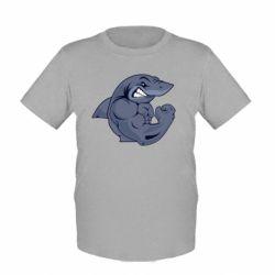 Детская футболка Gym Shark - FatLine