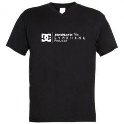 Мужская футболка  с V-образным вырезом Gymkhana Project Ken Block - FatLine