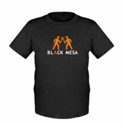 Детская футболка Half Life Black Mesa - FatLine