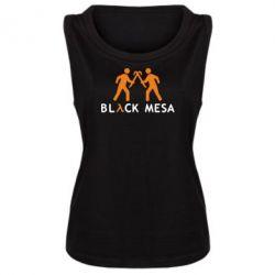 Женская майка Half Life Black Mesa - FatLine