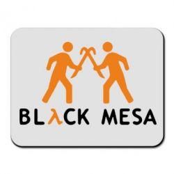 Коврик для мыши Half Life Black Mesa - FatLine