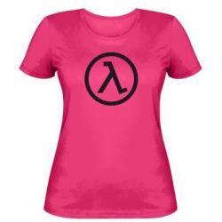 Женская футболка Half Life Logo - FatLine