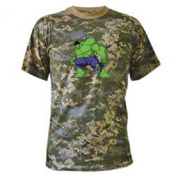 Камуфляжная футболка Халк - FatLine