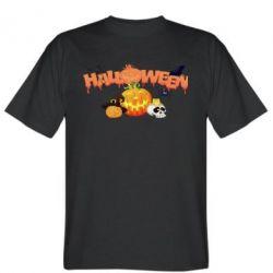 Мужская футболка Halloween Logo - FatLine