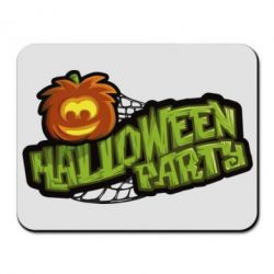 Коврик для мыши Halloween Party Logo - FatLine
