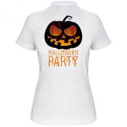 Женская футболка поло Halloween Party - FatLine