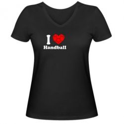 ������� �������� � V-�������� ������� Handball one love - FatLine