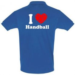Футболка Поло Handball one love