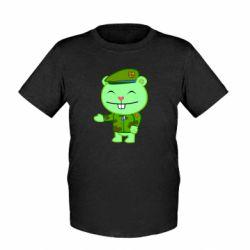 Детская футболка happy tree friends flippy - FatLine
