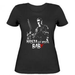 Женская футболка Hasta La vista, Baby