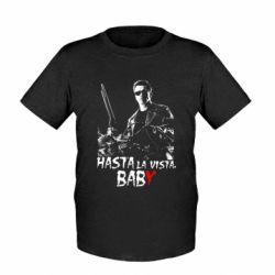 Детская футболка Hasta La vista, Baby