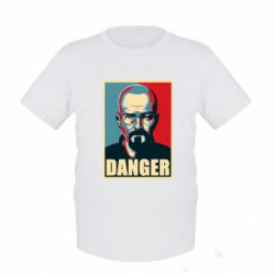 Детская футболка Heisenberg Danger - FatLine