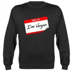 Реглан Hello, I'm Vegan - FatLine