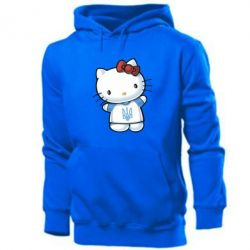 Мужская толстовка Hello Kitty UA - FatLine